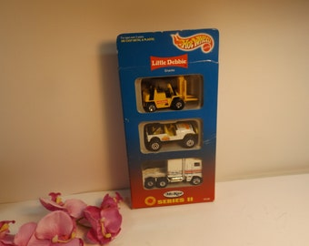 Sale Collector edition cars Hot Wheels Mckee Series ll Little Debbie Mattel 3 Pack NEW sealed In Box 1996. Toy Gift idea
