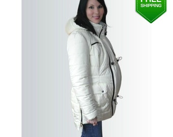 3 in 1 Pregnancy Coat/Jacket Baby Carring, Baby and Mother Coat, baby carrying jacket, baby carrying coat
