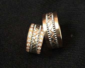 Spinner ring, anti stress ring, Spinner wedding Ring, Meditation spinner ring, Wedding band