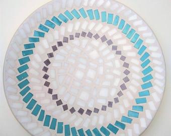 "Bamboo Mosaic Bowl ""Simple patterns"""