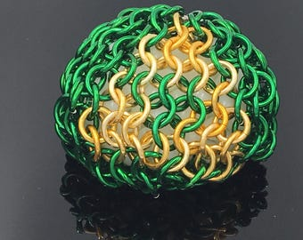 Triforce Chainmaille Hacky Sack
