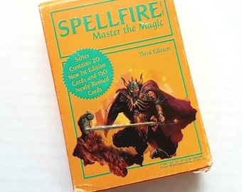 Spellfire deck. 1995 3rd edition. 52 cards. D&D. RPG. Dungeons and Dragons. Role playing. Card decks. Card games. TSR