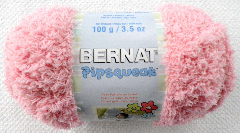 Bernat Pipsqueak Yarn, 3.5 oz/ea. 5 Colors: Tickle Me Pink, Funny ...
