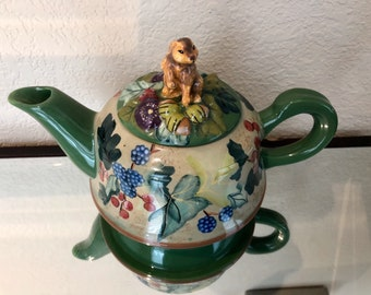 Tracy Porter Beloved Country Collections Teapot