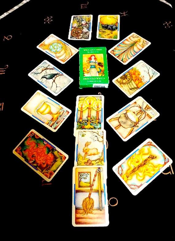 Wiccan Tarot Card Deck RARE Tarot Cards Vintage Tarot Deck