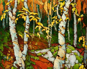 Autumn Woods Archival Giclée Print