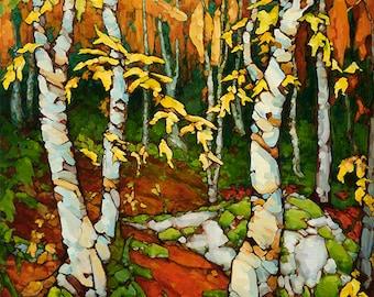 Autumn Woods Archival Giclée Print