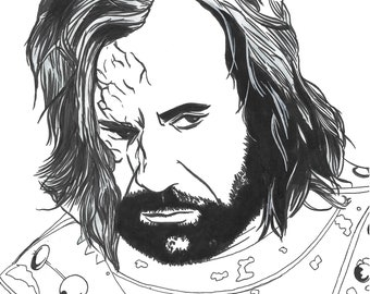 "Sandor Clegane ""The Hound."""