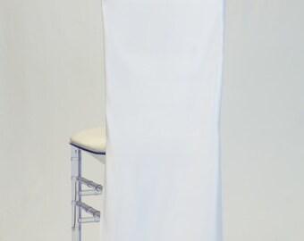 White L'amour Satin Chiavari Chair Cover