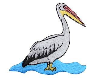 Pelican Applique Patch (Iron On)