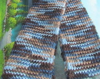 027CF Hand weave scarf