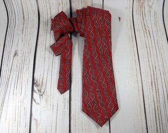 DNA tie, Double Helix tie, DNA base sequence, gene sequence, geneticist tie, DNA molecule tie, genetics tie, chemistry tie, necktie, gift