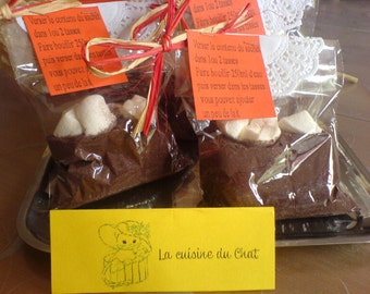 Chocolate Kit warm Marshmallow chud / Kit chocolate Marshmallow chud hot
