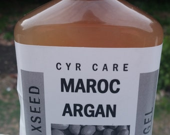 Argan flaxseed gel-curly hair gel-organic hair gel- hair moisturizer-organic flaxseed gel for beautiful curly hair