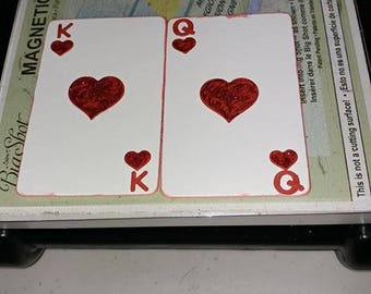 Playing Cards King and Queen 2 pieces to a set