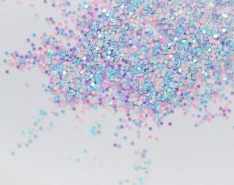 Pastel Pink, Blue, Purple Iridescent Glitter - 10 grams