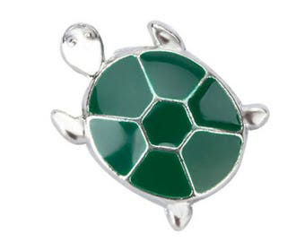Turtle Floating Charm for Glass Memory Locket FC14 - 1 Charm