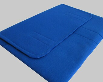 MacBook Air Sleeve, MacBook Air Case, MacBook Air 13 Inch Sleeve, MacBook Air 13 Case, MacBook Air Cover Solid Blue