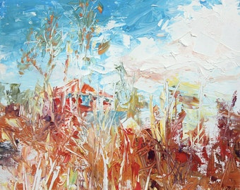 New England Landscape No.58, limited edition of 50 fine art giclee prints on canvas