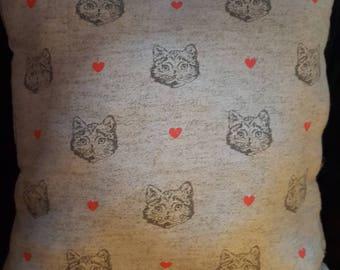 Kitty Love Pillow
