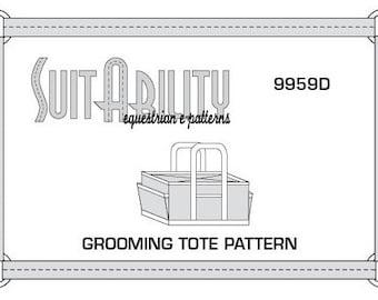 PDF Horse Grooming Tote Bag Pattern