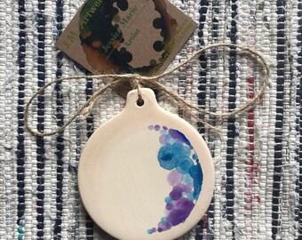 Waxing Crescent- Luna Collection Ornament