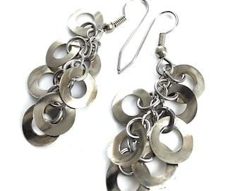 Dangle Earring Drops Hardware Jewelry Industrial