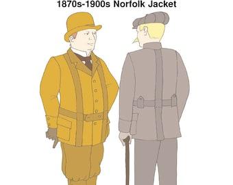 RH925 – 1870s-1900s Norfolk Jacket