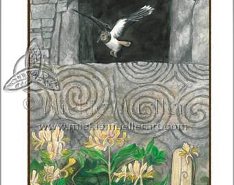Woodbine Card Giclee Print