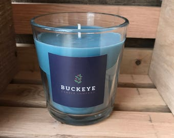 10 ounce Blueberry Cobbler Soy Candle Tumbler