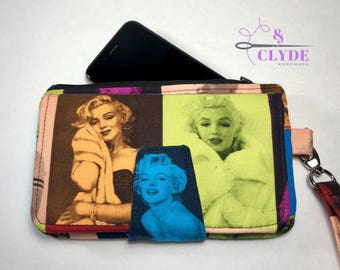 Marilyn Monroe, Swoon Pearl Wallet Clutch Wristlet, Swoon Purse