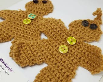 Handmade Christmas Gingerbread man Decoration