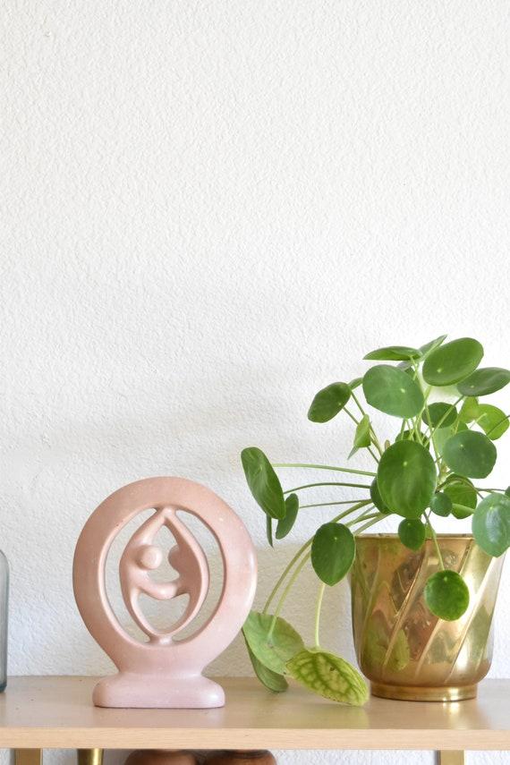 minimalist soap stone people figurine sculpture