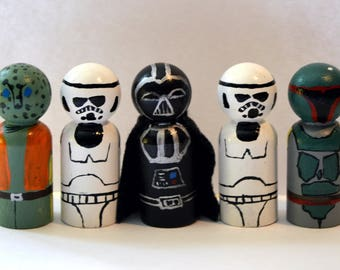 Star Wars Villains Peg Doll Play Set