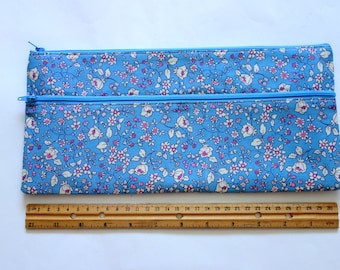 X Large Pencil case/ Makeup Bag 32cmx15cm With Two Pockets