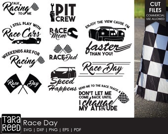 Race Day svg / Race Day svg bundle / Car Racing svg / Pit Crew svg / svg files / svg bundle / svg for Cricut / svg for Silhouette