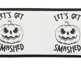 Funny Halloween Let's Get Smashed Cold Beverage Can Cooler