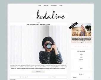 Kodaline   Premade Responsive Blogger Template