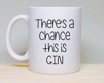 Christmas Gift Idea - Unique Christmas Gift - Gift for Him - Gift for Boss - Gift for Coworker - Gift for Dad - Gift for Husband - Gin Mug