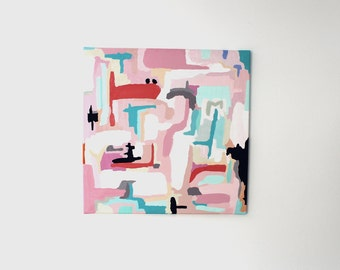 "Acrylic on canvas ""Maricopa"" 60 x 60 cm Modern Art modern style acrylic original abstract painting on canvas acrylic painting modern"