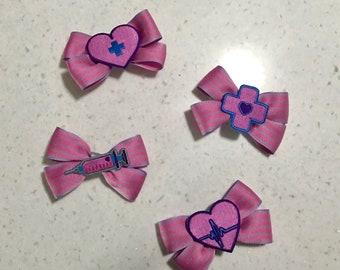 Kawaii Menhera bow hairclip