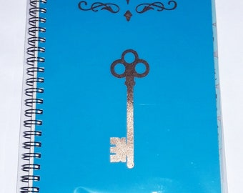 Website Password Notebook   Personalized Internet Password Notebook Foil Laminated Spiral Bound Personalized Website Address Password Book