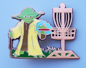 Festi Daze Version 1 Yoda Disc Golf Pin Number 12 of 200 Very Rare