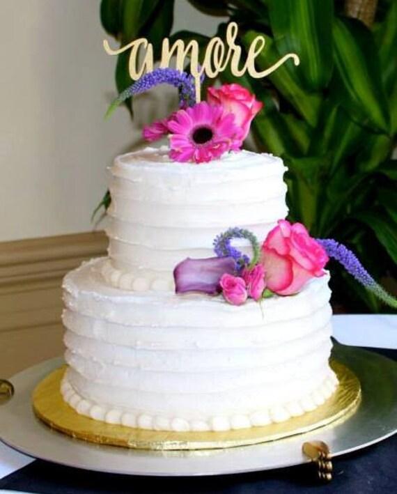 Amore Cake Topper, Wedding Cake Topper, Cake Topper, Love Cake Topper, Amore, Engagement Cake Topper, Italy Wedding, Cake Topper Amore
