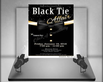 Black Tie Affair Flyer