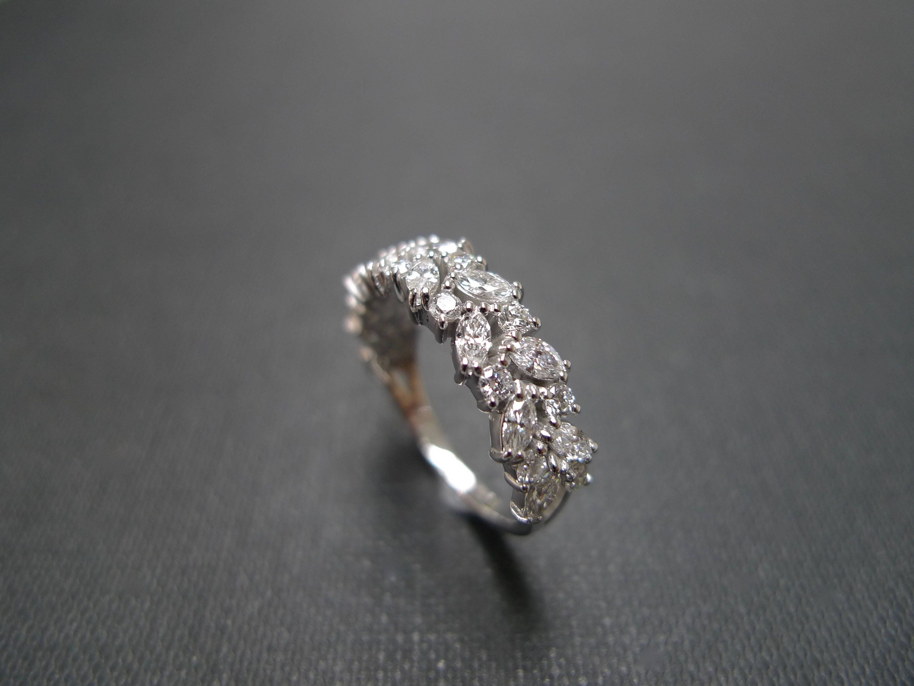 ring signature shank on collections engagement diamond white by rings laurence cut setting a graff marquise gold with