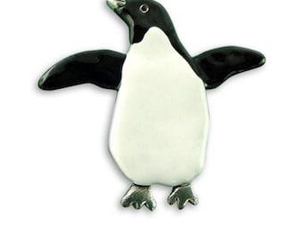 Enamel Penguin Pin