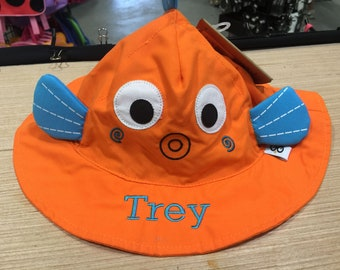 Sushi the Fish Sun Hat Beach Hat for Babies and Toddlers
