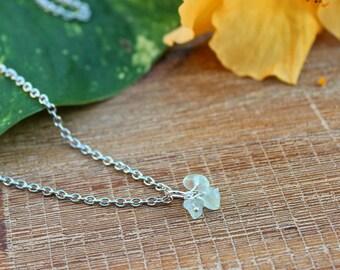 Gemstone Cluster Charm Necklace