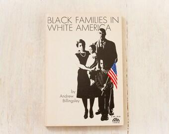 Black Families in White America (Andrew Billingsley, 1968) Vintage Book / Sociology / Race Relations / Civil Rights - Paperbacks